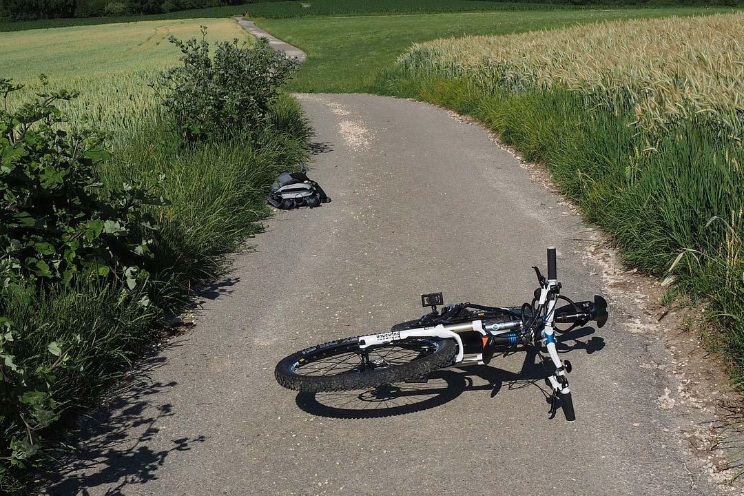 ¿Qué hacer en caso de un accidente de tráfico en bicicleta?