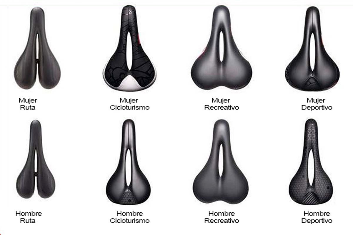 Tipos de sillines de bici y cual utilizar.